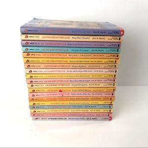 Vintage Babysitters Club Paperback Books Lot of 19
